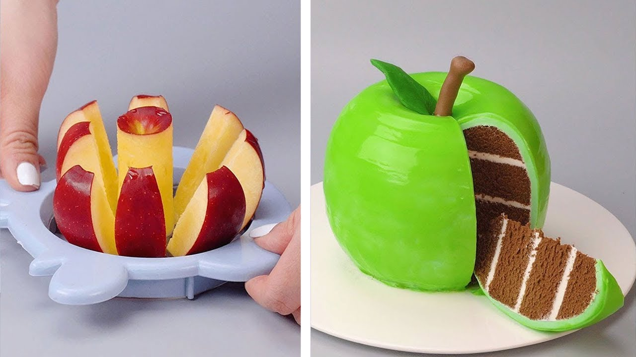 Awesome Homemade Apple Cake Recipes | So Yummy Cake Decorating Ideas For A Weekend Party | So Tasty
