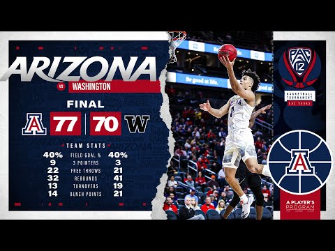 Wildcats Advance In Pac 12 Tournament Highlights
