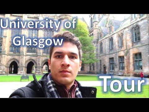 Recorriendo mi universidad (Universidad de Glasgow) Escocia