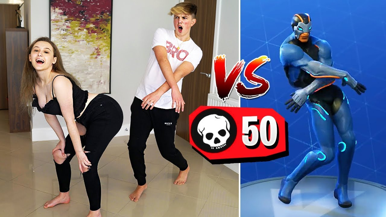1 KILL = 1 FORTNITE DANCE IN REAL LIFE!! (*NEW* Fortnite Season 4 Challenge)