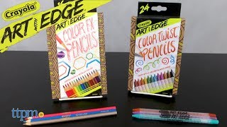 Art with Edge Color Twist & FX Pencils from Crayola