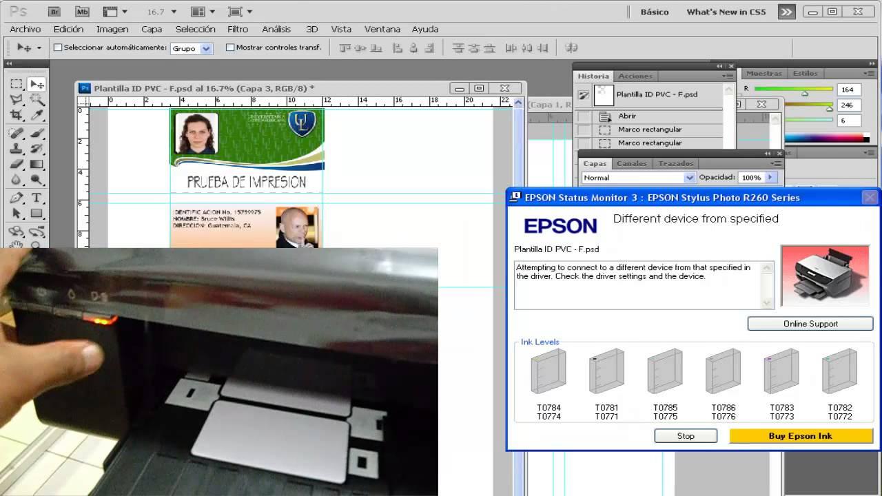 Скачать программу для принтера epson t50