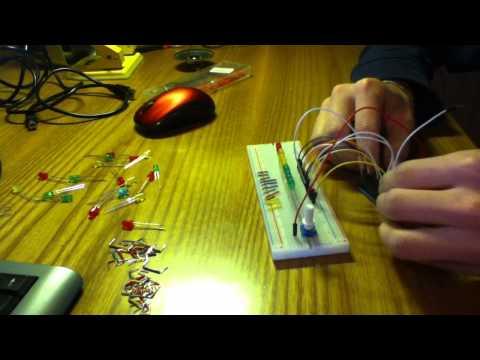 Arduino Progetti: led a ritmo di musica