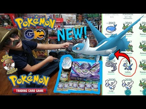 Pokemon Go Meets Pokemon Cards! Catching Your Favorite Pokemon At Carls #17! LATIOS! REAL LIFE CATCH