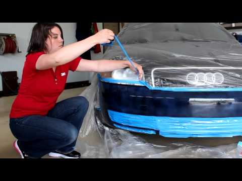 3M™ Auto Tech Tip – Waxing, Taping & Drying 3M Paint Defender Spray Film