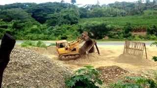 Cat 955l track loader
