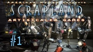 American Mcgee Presents: Scrapland gameplay 1