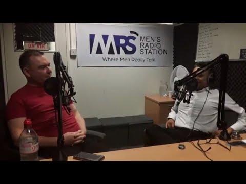 Men's Radio Station. LONDON. Lee Michael Walton candid interview, includes radioplay of  VIA VITAE.