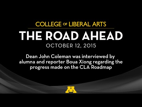 The Road Ahead Event with Dean John Coleman 2015