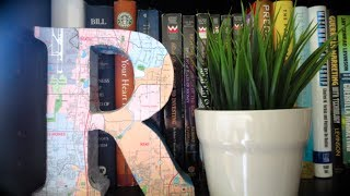 DIY: 3D Map Letters (Room Decor) Thumbnail