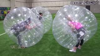 Ben and Kellie Try Bubble Ball! - Pickler & Ben