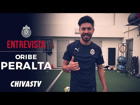 Oribe Peralta es refuerzo de Chivas | Entrevista | CHIVASTV
