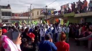 Carnaval de tenancingo tlaxcala día Martes.  Toreros de la sección 4tha y 5tha los mejores