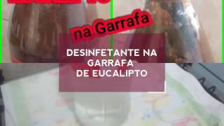 SABÃO DESINFETANTE EUCALIPTO NA GARRAFA