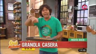 Receta dulce: Granola casera y mousse de yogur