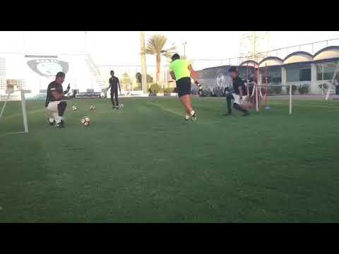 Training goalkeeper in alhilal club 19,20 years