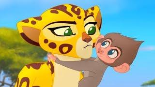 Мультфильмы Disney - Хранитель лев | Бабуины! (Сезон 1 Серия 20)