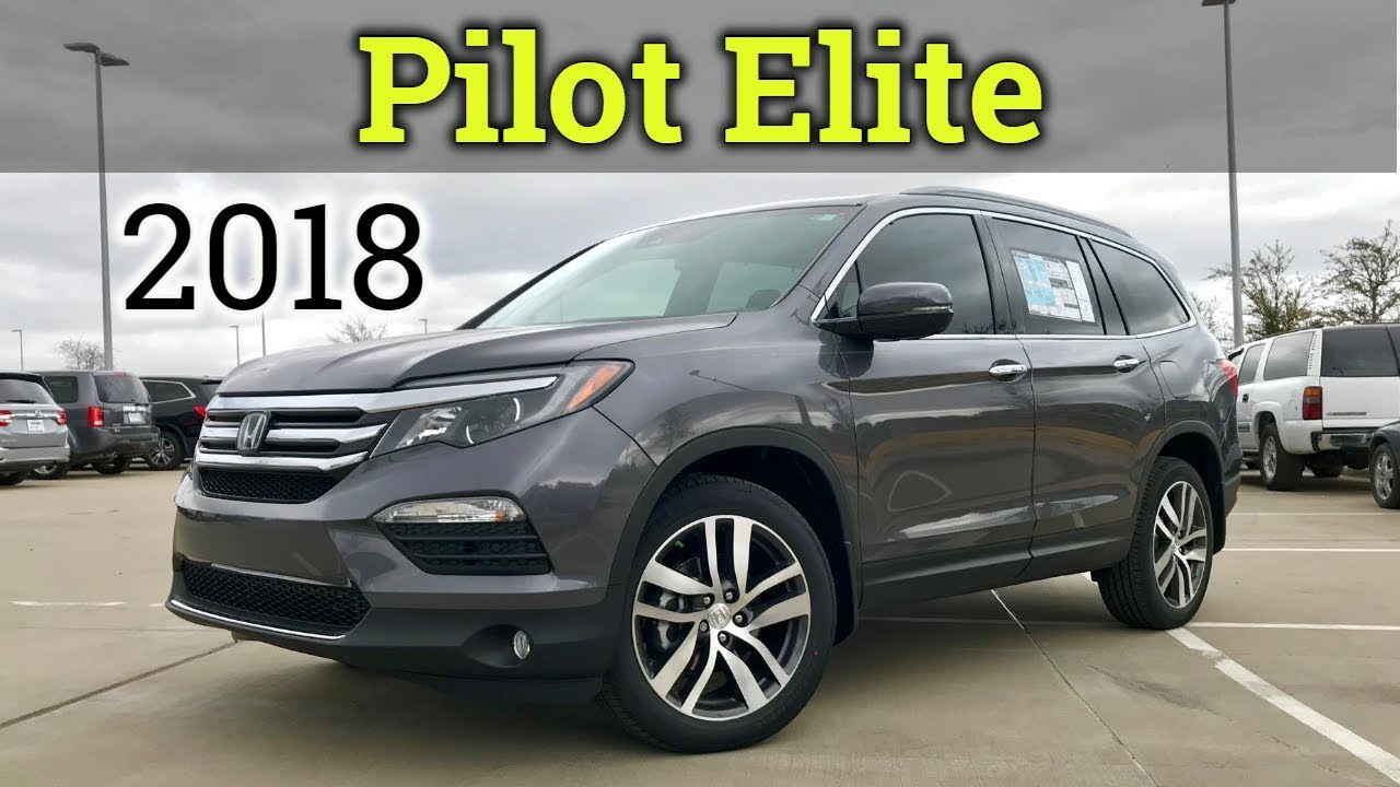 Inside Out 2018 Honda Pilot Elite Review And Start Up Youtube