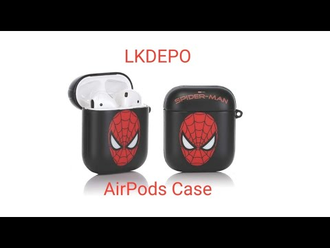 """lkdepo""-airpods-case-cover-for-airpods-1st-and-2nd-gen-(spider-man)"
