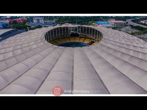 KL Sports City Stadium By Drone 2018 | Andy Penders