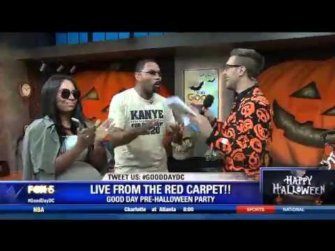VIDEO: Kimye wants YOU on Good Day DC's Halloween show
