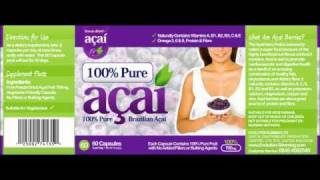Acie Berry Review - Weight Loss Tablets