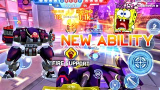 MECH ARENA 💪⚡ Brickhouse NEW Ability OVERCHARGER   New Update Testing Battle