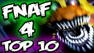 FNAF 4 TOP 10 Things You MISSED/SECRETS in FNAF 4 || Top 10 Five Nights at Freddy