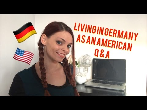 LIVING IN GERMANY AS AN AMERICAN! Q & A!