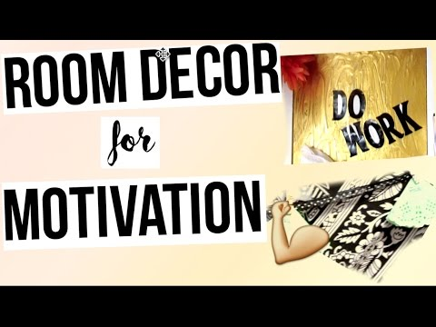 Motivational Wall Decor & DIY Room Decor for motivation : DIY ...