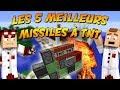 LES 5 MEILLEURS MISSILES À TNT ! LABOCRAFT #1 TUTORIEL REDSTONE