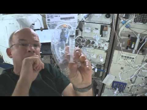 NASA Astronaut Jeff Williams conducts Mission Discovery students' experiments on ISS Part 1 of 2