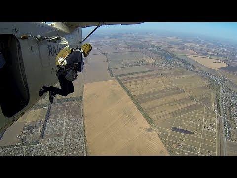 Самостоятельный прыжок с парашютом в Майкопе - 800 метров