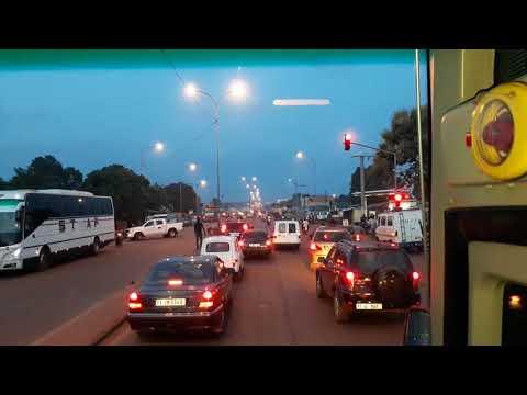 Route Bobo Dioulasso Ouagadougou'Burkina Faso'