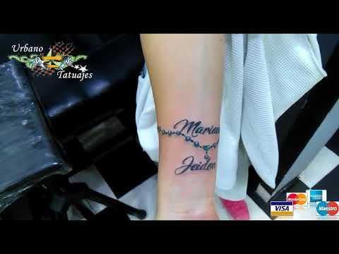 Urbano Tatuajes Pulsera Nombres Youtube
