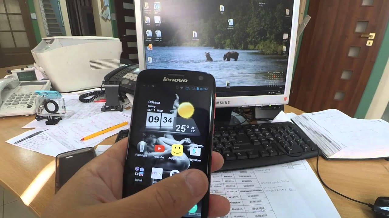 Видео обзор смартфона Lenovo S820 4.7