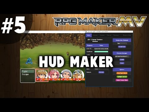 HUD Maker Tutorial #5 - Battle HUD Walkthrough