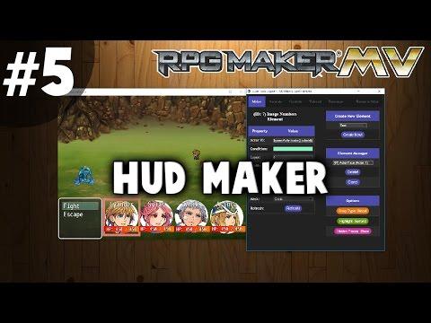 HUD Maker Tutorial #5 - Battle HUD Walkthrough