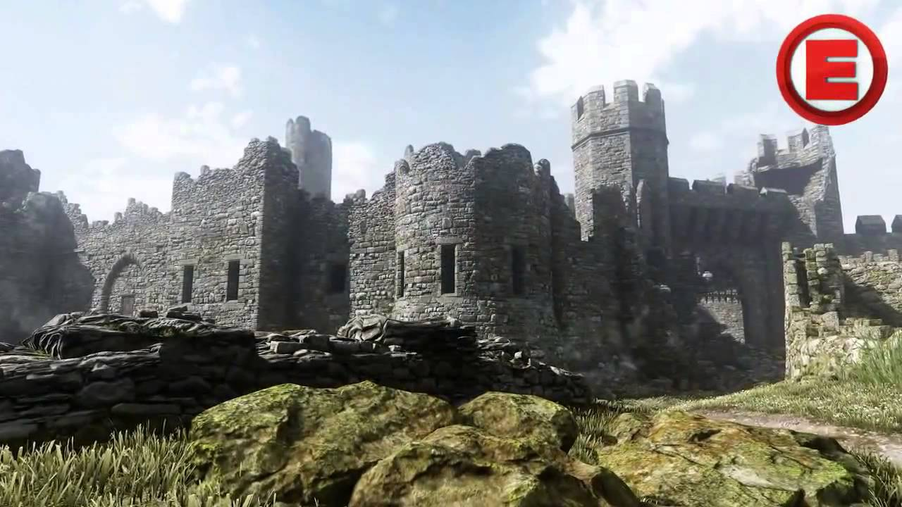 Call of Duty Ghosts Stonehaven Castle Multiplayer Map COD Ghost