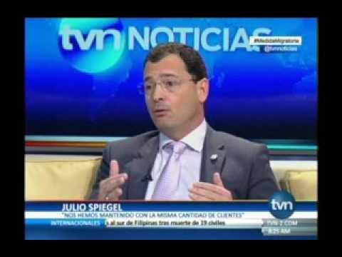 TVN, Julio Spiegel, Gerente General de Cable And Wireless