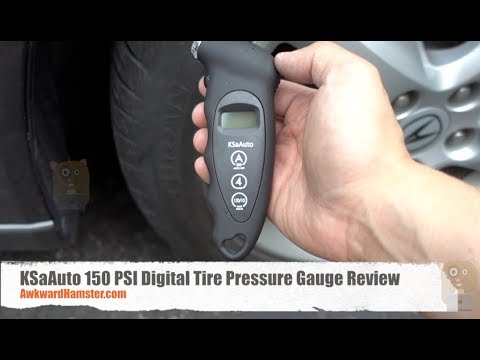 Psi Tire Pressure >> Ksaauto 150 Psi Digital Tire Pressure Gauge Review