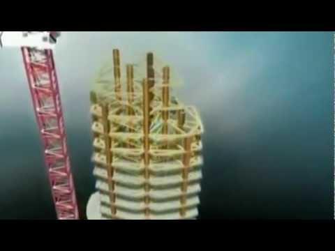 ปั๊มคอนกรีตกับตึกสูงที่สุดในโลก