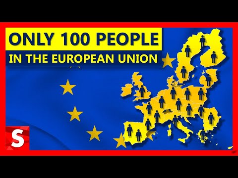 EU's Population Explained As If It Were Just 100 People