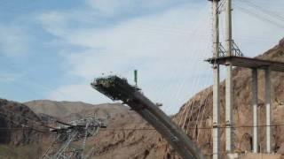 Hoover Dam Bypass Bridge Construction