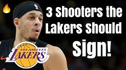 3 Shooters the Los Angeles Lakers Should SIGN! | Seth Curry Joins LeBron After Anthony Davis Trade?