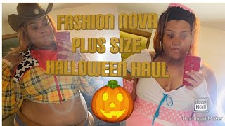 Fashion nova curve Halloween haul