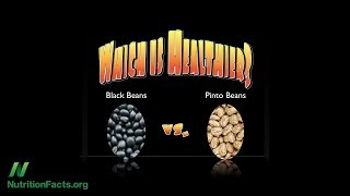 Jsou zdravější pinto fazole nebo černé fazole?