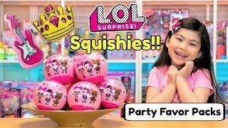 new lol surprise squishies lol surprise party favor pack balls lol surprise doll party ideas