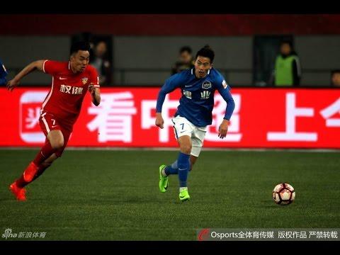 HIGHLIGHTS Tianjin Quanjian vs Henan Jianye 天津权健 vs 河南建业 | CSL 2017 Round 3