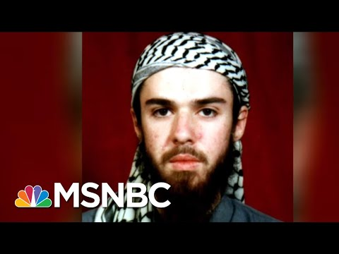 American Who Joined The Taliban Released From Prison | Velshi & Ruhle | MSNBC